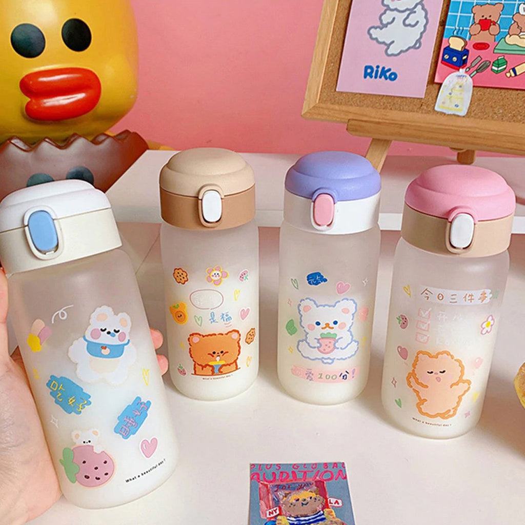 Frosted Pals Water Bottle - Kawaiies - Adorable - Cute - Plushies - Plush - Kawaii