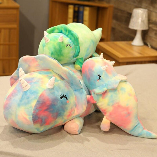 Galaxy Triceratops - Kawaiies - Adorable - Cute - Plushies - Plush - Kawaii