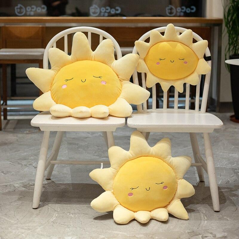 Gentle Sleeping Sun Pillow - Kawaiies - Adorable - Cute - Plushies - Plush - Kawaii