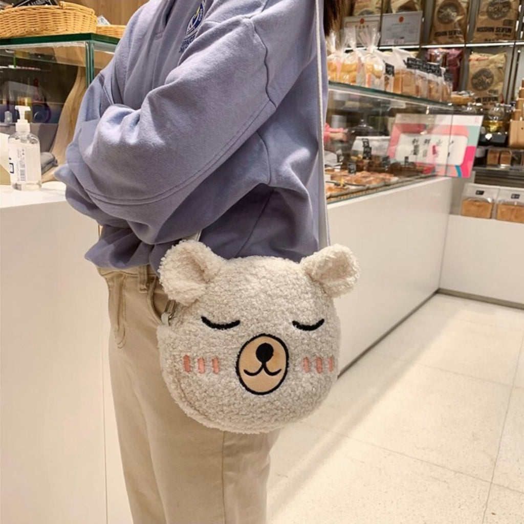 Happy Bear Bag - Kawaiies - Adorable - Cute - Plushies - Plush - Kawaii