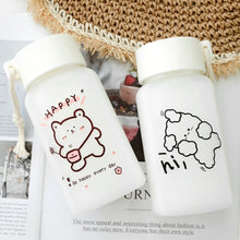 Load image into Gallery viewer, Happy Bear Water Bottle - Kawaiies - Adorable - Cute - Plushies - Plush - Kawaii
