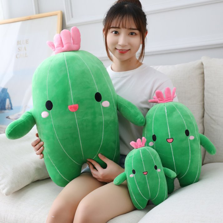 Happy Cactus Friends - Kawaiies - Adorable - Cute - Plushies - Plush - Kawaii