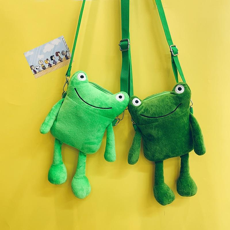 Happy Frog Bag - Kawaiies - Adorable - Cute - Plushies - Plush - Kawaii