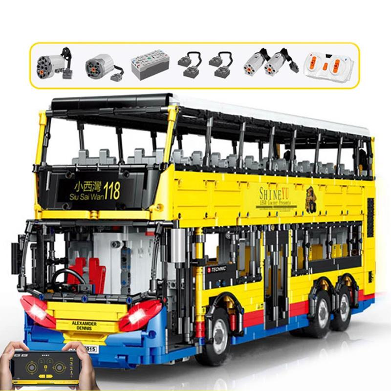 Hong Kong Double-Decker Bus Advanced Motorised RC - Kawaiies - Adorable - Cute - Plushies - Plush - Kawaii