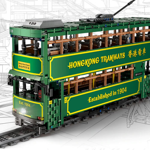 Hong Kong Double-Decker Ding Ding Tram RC - Kawaiies - Adorable - Cute - Plushies - Plush - Kawaii