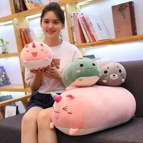Huge Sleeping Buddies Collection - Kawaiies - Adorable - Cute - Plushies - Plush - Kawaii