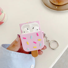 Load image into Gallery viewer, Ice Cream Airpods Case (1&2&Pro) - Kawaiies - Adorable - Cute - Plushies - Plush - Kawaii