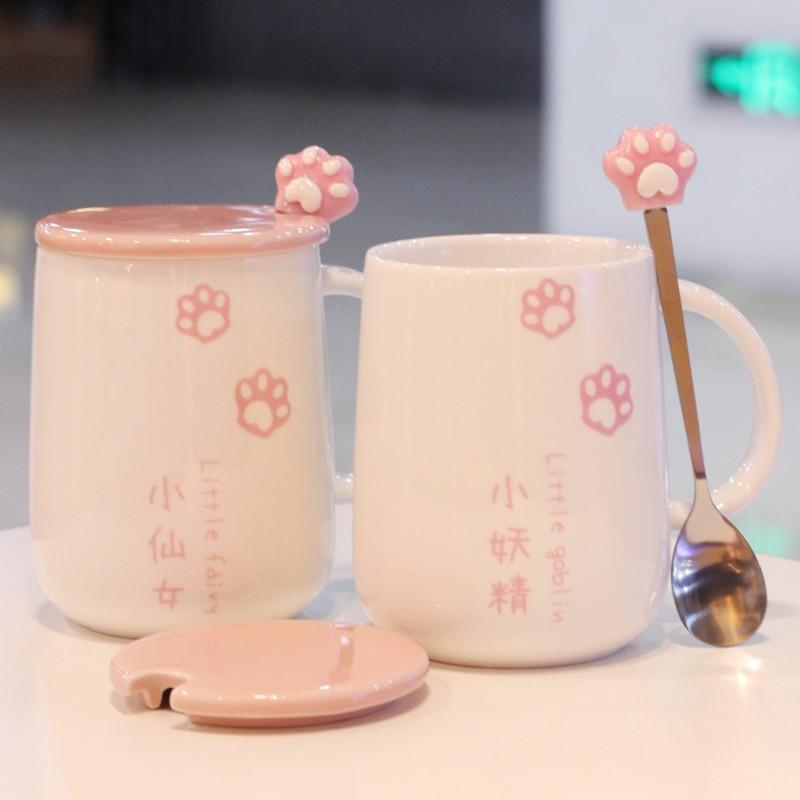kawaiies-softtoys-plushies-kawaii-plush-Japanese Sakura Paw Mug | NEW Home Decor