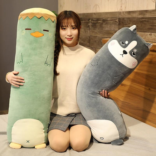 Kawaii Animal Body Pillow Collection | NEW - Kawaiies - Adorable - Cute - Plushies - Plush - Kawaii