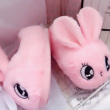 Load image into Gallery viewer, Kawaii Bunny Plush Slippers - Kawaiies - Adorable - Cute - Plushies - Plush - Kawaii
