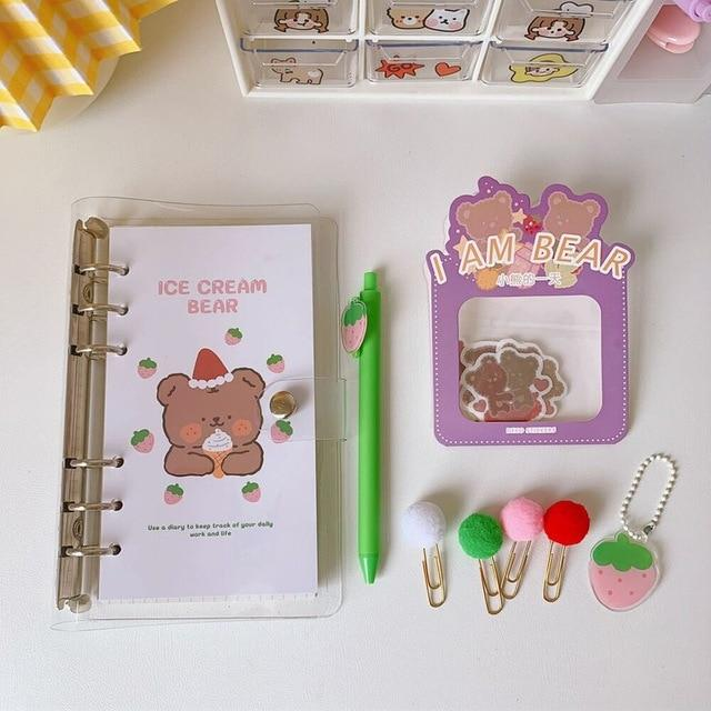 Kawaii Animals Daily Journal Set - Kawaiies - Adorable - Cute - Plushies - Plush - Kawaii