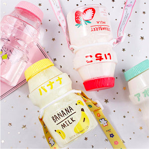 Kawaii Milk Bottle - Kawaiies - Adorable - Cute - Plushies - Plush - Kawaii