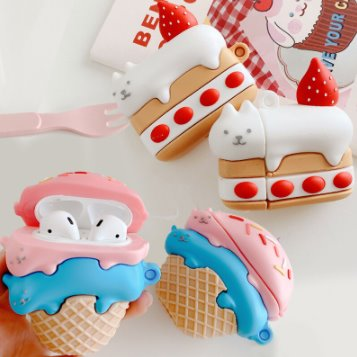 Kitty Desserts Airpods Case (1&2&Pro) - Kawaiies - Adorable - Cute - Plushies - Plush - Kawaii