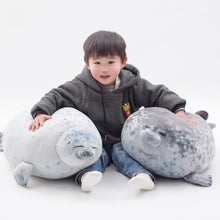 Load image into Gallery viewer, Lazy Chubby Seal - Kawaiies - Adorable - Cute - Plushies - Plush - Kawaii