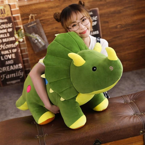 Little Horn Dino - Kawaiies - Adorable - Cute - Plushies - Plush - Kawaii