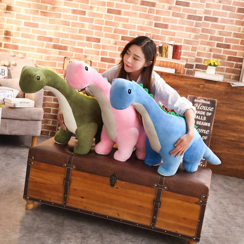 Little Long Neck Dino - Kawaiies - Adorable - Cute - Plushies - Plush - Kawaii