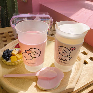 Little Sheep Frosted Cup - Kawaiies - Adorable - Cute - Plushies - Plush - Kawaii
