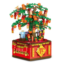 Load image into Gallery viewer, Lucky Orange Tree planted on a Music Box - Kawaiies - Adorable - Cute - Plushies - Plush - Kawaii