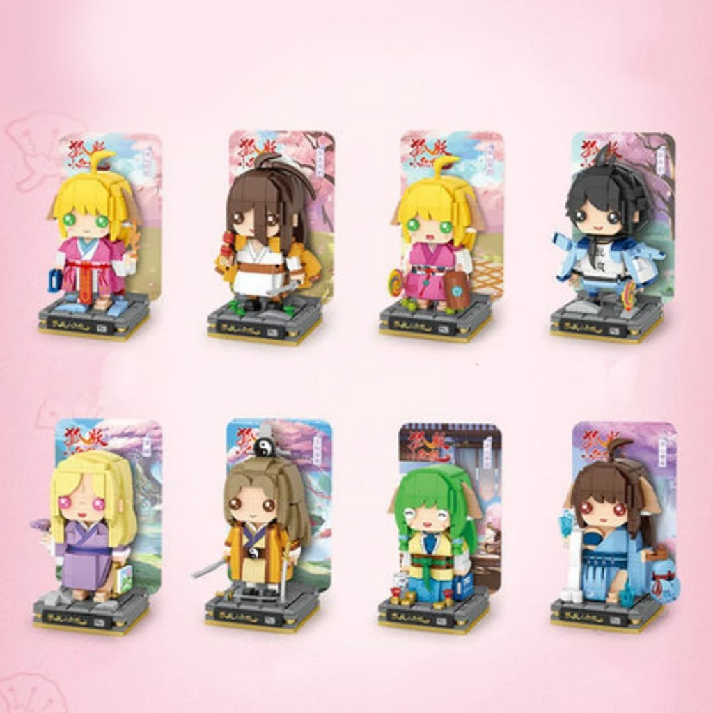 Nano Japanese Anime Building Block Figures | NEW - Kawaiies - Adorable - Cute - Plushies - Plush - Kawaii