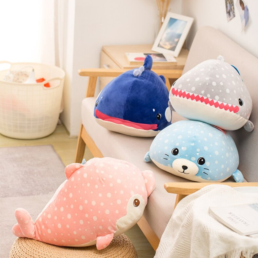 Ocean Buddies | NEW - Kawaiies - Adorable - Cute - Plushies - Plush - Kawaii