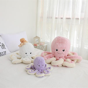 OCTAVO FAMILY (Octopus) - Kawaiies - Adorable - Cute - Plushies - Plush - Kawaii