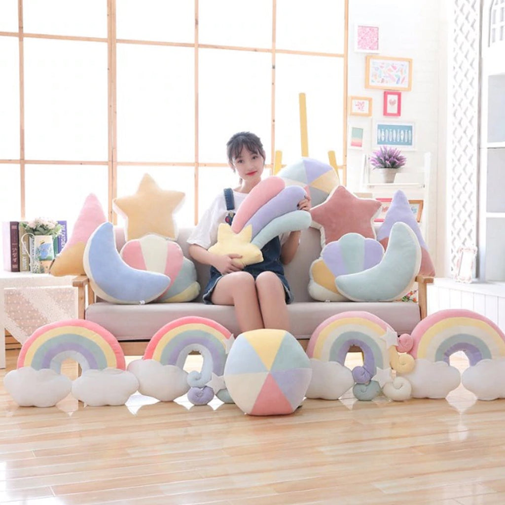 Pastel Weather Cushions - Kawaiies - Adorable - Cute - Plushies - Plush - Kawaii