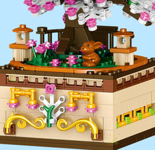 Load image into Gallery viewer, Romantic Japanese Sakura Tree Floating on a Music Box - Kawaiies - Adorable - Cute - Plushies - Plush - Kawaii