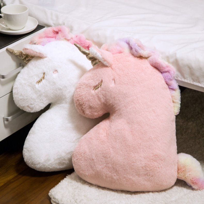 Sleepy Unicorn Pillow | NEW - Kawaiies - Adorable - Cute - Plushies - Plush - Kawaii