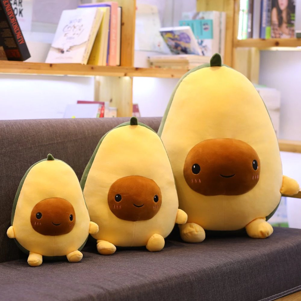 The Awkward Avocado - Kawaiies - Adorable - Cute - Plushies - Plush - Kawaii