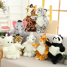 Load image into Gallery viewer, Zoo Friends Backpack - Kawaiies - Adorable - Cute - Plushies - Plush - Kawaii
