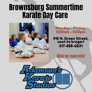 One week Adamson's Karate Summertime Daycamp (Half Day)