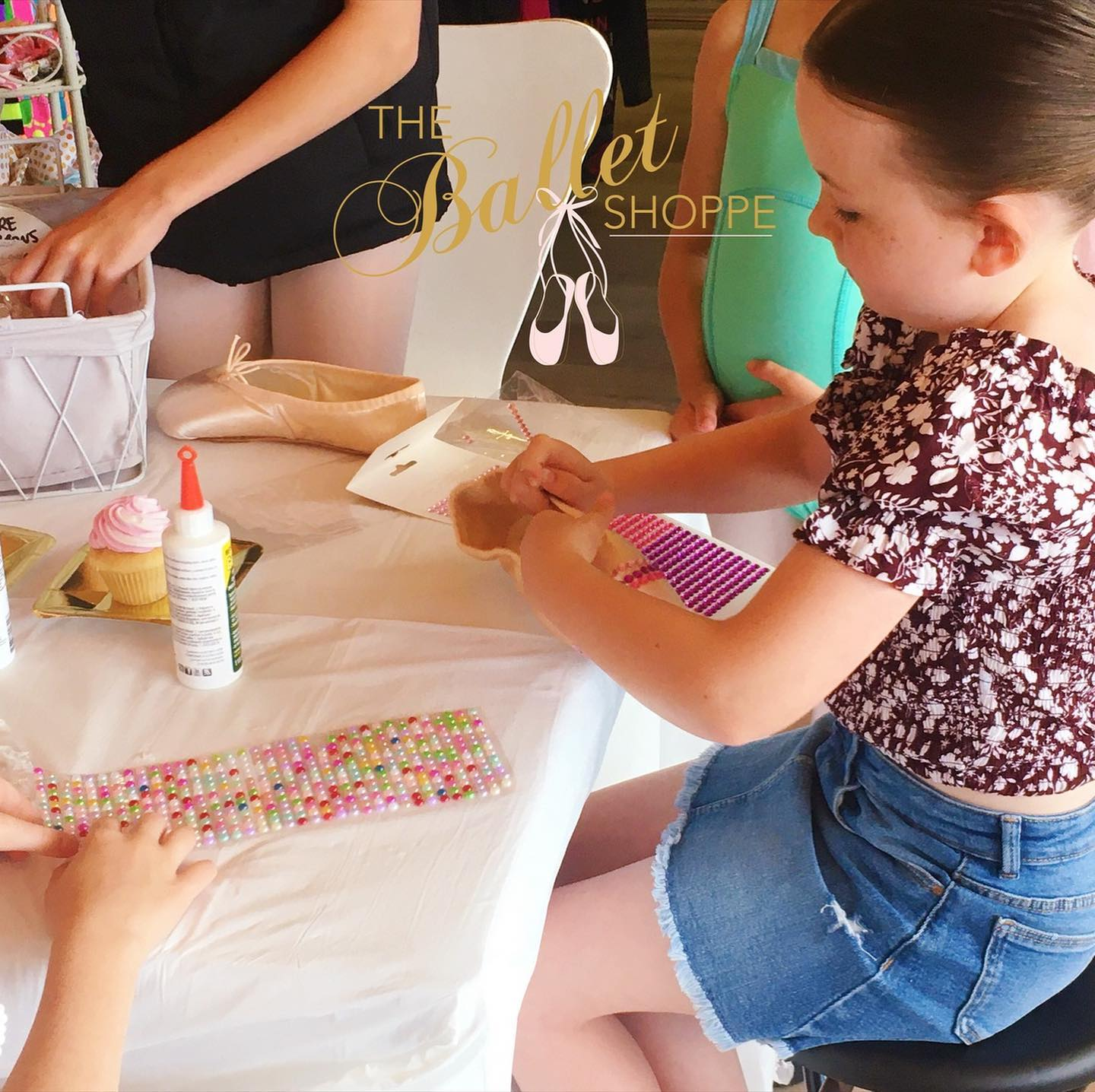 Pointe Shoe Decorating Workshop at The Ballet Shoppe