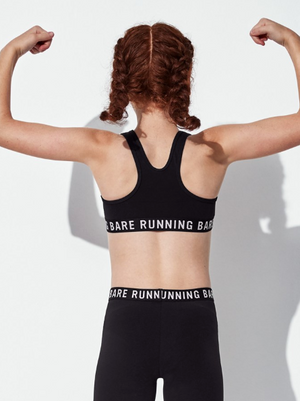 Running Bare GIRLS Workout Crop
