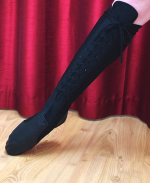 Black Lace Up Spats