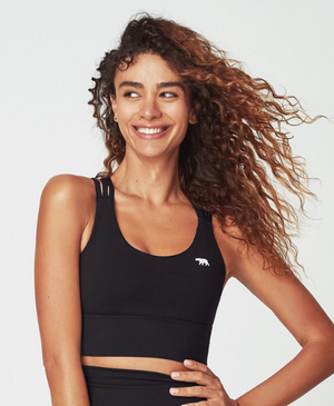 Running Bare Lotus Trio Sports Bra