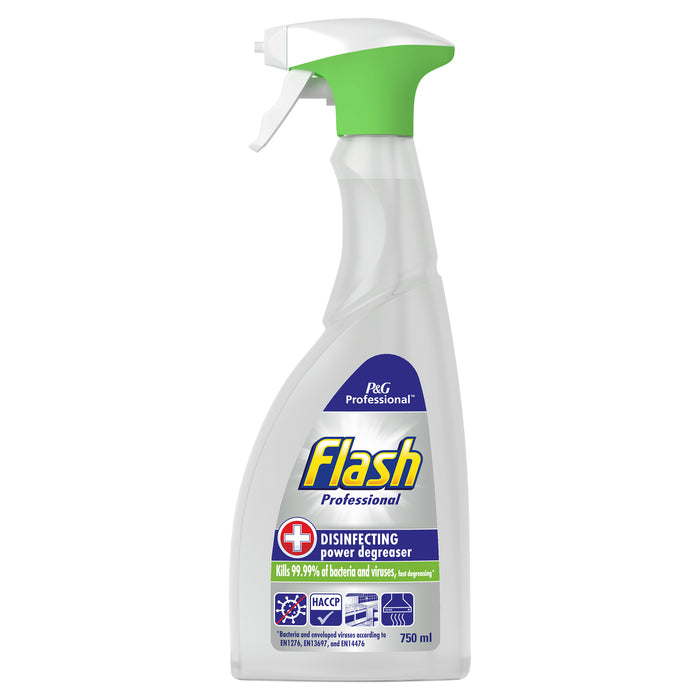 Flash Disinfecting Degreaser Spray