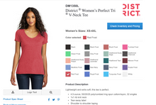 Load image into Gallery viewer, Women's Perfect Tri ® V-Neck Tee
