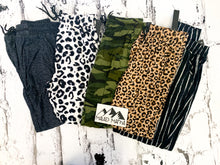 Load image into Gallery viewer, WHITE LEOPARD CHEETAH | BUTTERY SOFT | JOGGERS