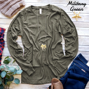The PERFECT long sleeve T-Shirt