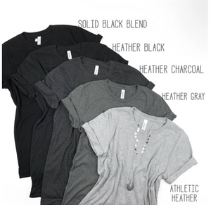 Short Sleeve Crew Basic T-shirt