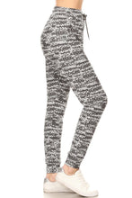 Load image into Gallery viewer, White/Grey Design | BUTTERY SOFT | JOGGERS