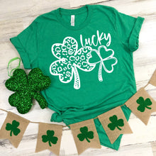 Load image into Gallery viewer, LUCKY CLOVER | ST PATTYS | GREEN DAY