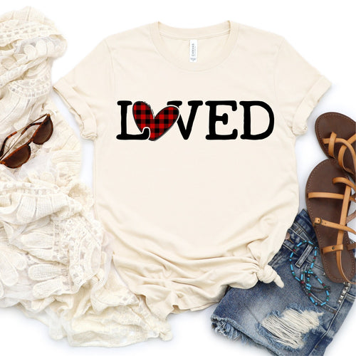 Love-Plaid| Valentines | February