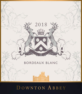 Downton Abbey Bordeaux Blanc
