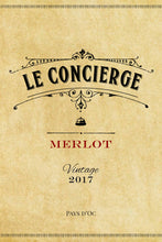 Load image into Gallery viewer, Le Concierge Pays d'Oc Merlot