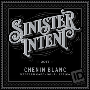 Sinister Intent Western Cape Chenin Blanc