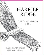 Load image into Gallery viewer, Harrier Ridge New Zealand Gewurztraminer