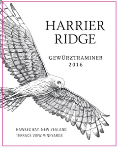 Harrier Ridge New Zealand Gewurztraminer