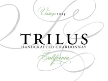 Load image into Gallery viewer, Trilus California Chardonnay