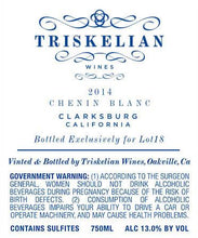 Load image into Gallery viewer, Triskelian Claskburg Chenin Blanc